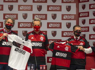 Flamengo e BRB celebram acordo de parceria master - 01-07-2020