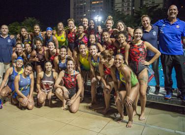 Flamengo x ABDA_Amistoso de Polo Aquático_Parque Aquático Fadel Fadel_Gávea_16-07-2021