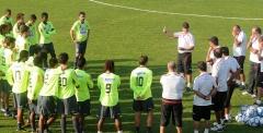 Treino futebol profissional, em Itu - 29/06/10