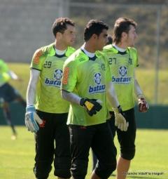 Treino futebol profissional, em Itu - 02/07/10