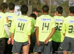 Treino futebol profissional, em Itu