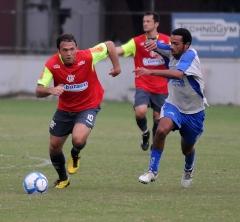 Jogo-treino futebol profissional contra o Olaria (10.07)