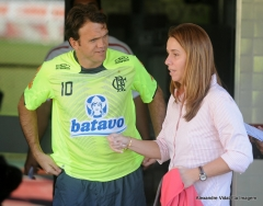 Treino futebol profissional, na Gávea - 12/07/10