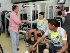 Treino futebol profissional, na Gávea (19.07)