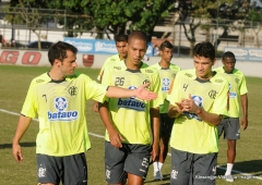 Treino futebol profissional, na Gávea (23.07)