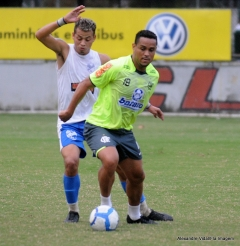 Jogo-treino contra o Nilópolis- futebol profissional (27.07)