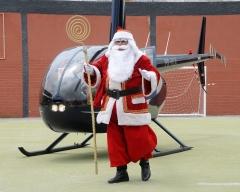 Papai Noel chega à Gávea (18-12-2010)