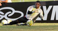 Treino futebol profissional, no Ninho do Urubu (18-02)