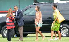 Barack Obama e Patricia Amorim - 20-03-2011
