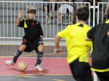 Treino do Futsal Mirim - 06-04-2011