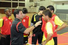 Treino Futsal Infantil - 07-04-2011