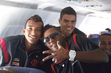Viagem dos juniores para Libertadores sub-20 (09.06)