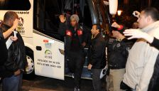 Flamengo chega a Curitiba para o jogo Flamengo X Atlético PR.(11-06)