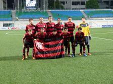 Flamengo sub-15 na Lion City Cup, em Cingapura