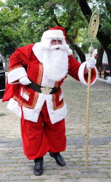 Papai Noel chega na Gávea - 17-12-2011