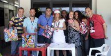 Flamengo presenteia funcionários com cesta de Natal- 22-12-2011