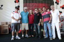 Festa de funcionários é um sucesso no Flamengo (02)- 23-12-2011