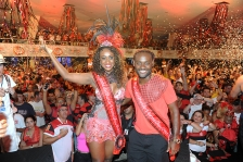 Baile do Vermelho e Preto no Clube Monte Líbano, na Lagoa. 18-02-2012