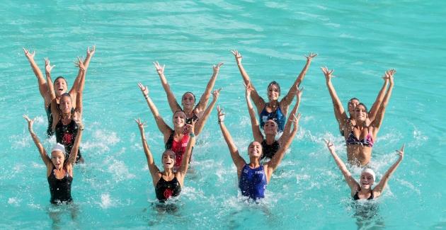 Treino nado sincronizado-20/04/2012