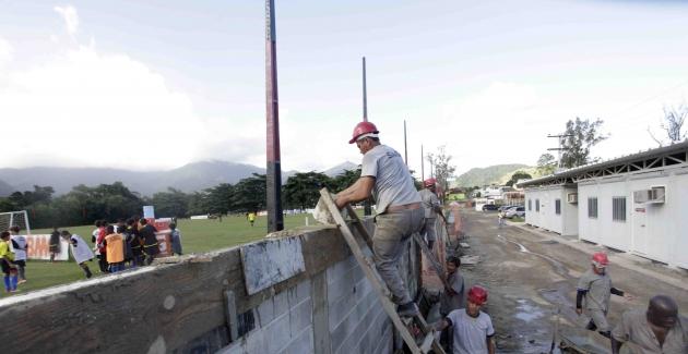 Obras no CT-05/05/2012