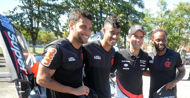 A Mobil Super, marcou presença no treino desta quarta-feira (30.05.2012)