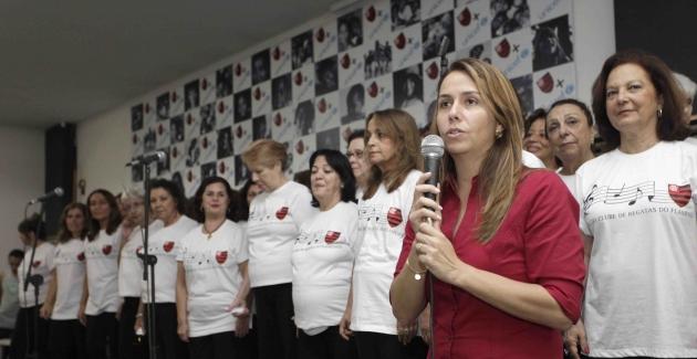 Coral no Flamengo-02/06/2012