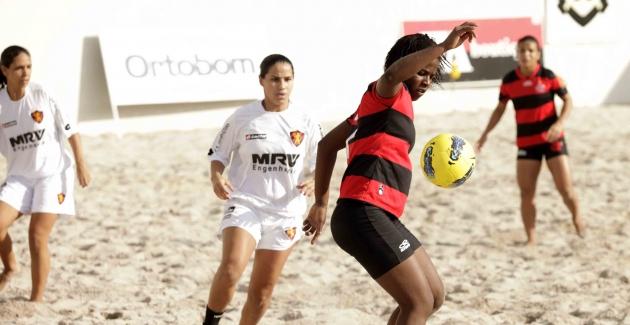 Beach Soccer-Flamengo x Sport-07/07/2012
