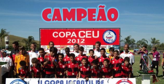 Mirim do Fla é campeão da Copa Céu