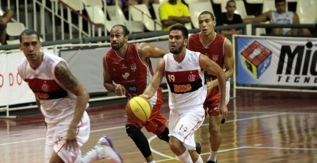 Basquete-Flamengo x Tijuca-05/10/2012