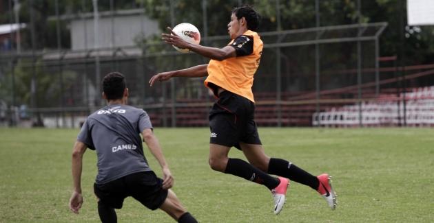 Futebol juniores-Jogo treino Flamengo x Audax-25/10/2012