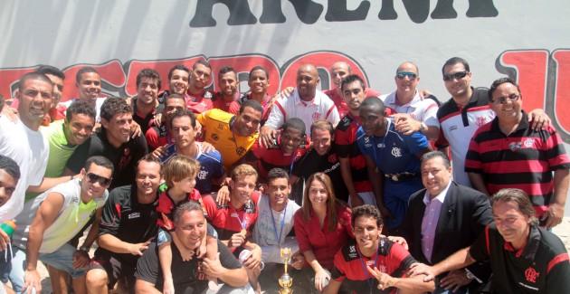 Circuito mundial de Beach Soccer masculino-Flamengo x FC Porto-18/11/2012