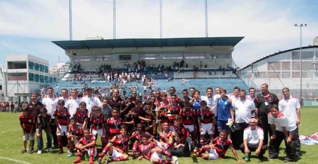 Futebol sub 13-Flamengo x Vasco-02/12/2012