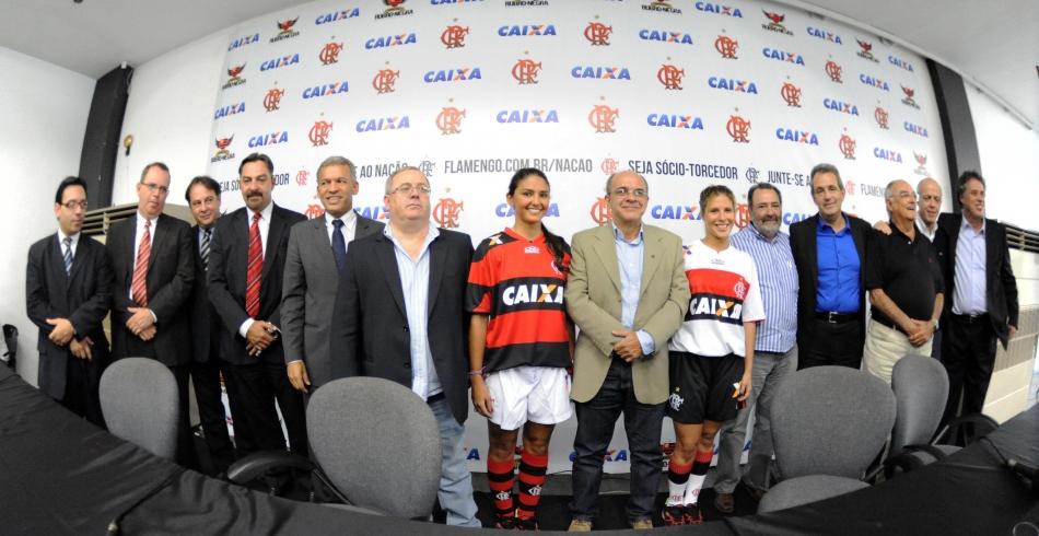 Flamengo anuncia acordo de patrocínio com a Caixa - 07-5-2013