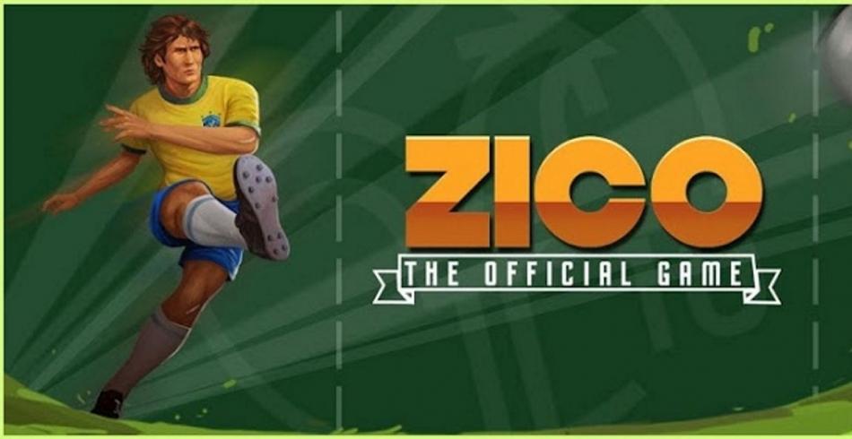 Lançamento de jogo do Zico
