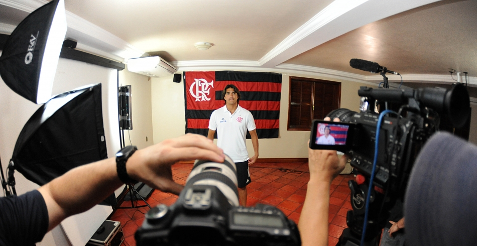 Making Of da gravação do comercial para sócio-torcedor do Flamengo - 25-06-2013