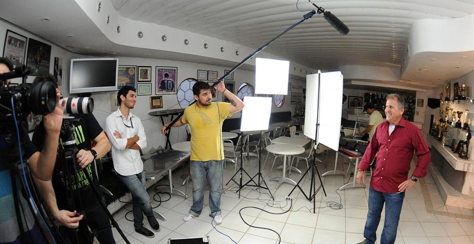 Making Of da gravação do comercial para Nação Rubro-Negra – 25-06-2013