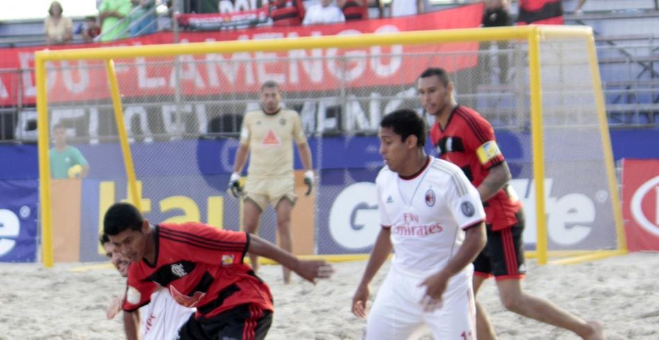 Flamengo x Milan - Mundialito de Clubes de Beach Soccer – 13-11-2013