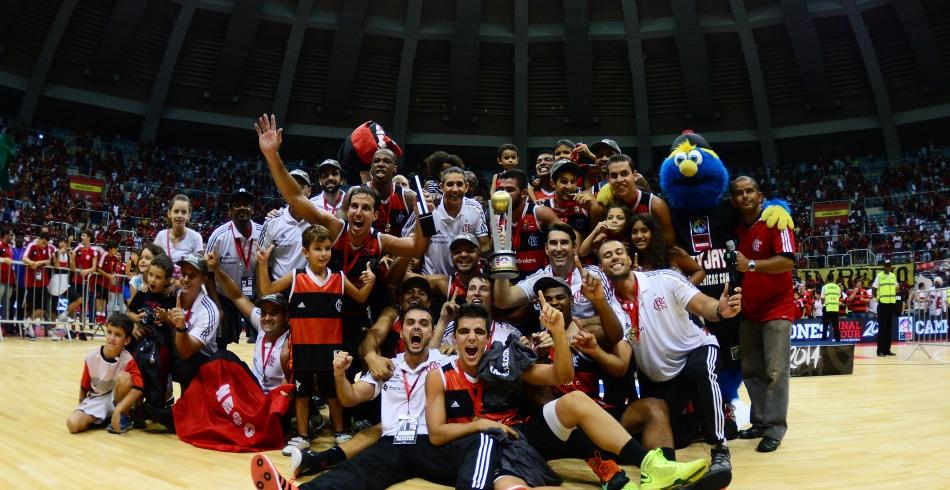 Final da Liga das Américas - Flamengo X Pinheiros - 22-03-2014