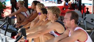 Equipe de Remo Britânica treina em sede náutica do CRF - 06/10/2014