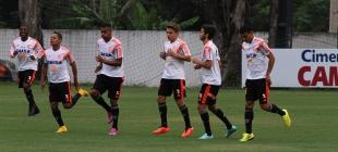Treino do Flamengo - 14/10/2014