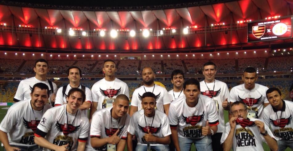Sócios-torcedores participam de Matchday - Fla x América-RN - 15/10/2014