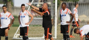 Treino do Flamengo Sub 20 - 17/10/2014
