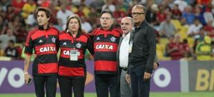 Homenagem aos heróis do 1° Tricampeonato Carioca - 22/10/2014