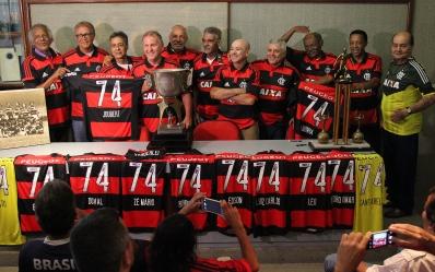 Homenagem aos campeões do Carioca de 74 - 23/12/2014