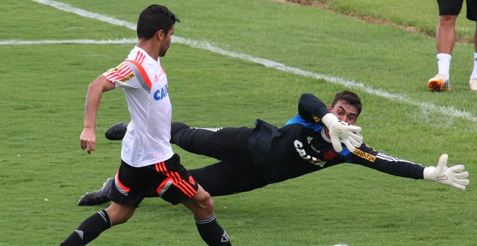 Pré- temporada do Flamengo - tarde - 08/01/2015