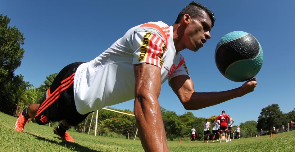 Pré-temporada do Flamengo - 09/01/2015