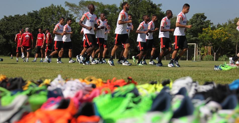 Pré-temporada do Flamengo - 16/01/2015