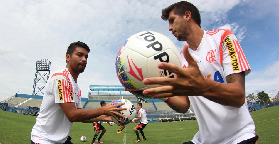 Treino do Flamengo em Manaus - 21/01/2015