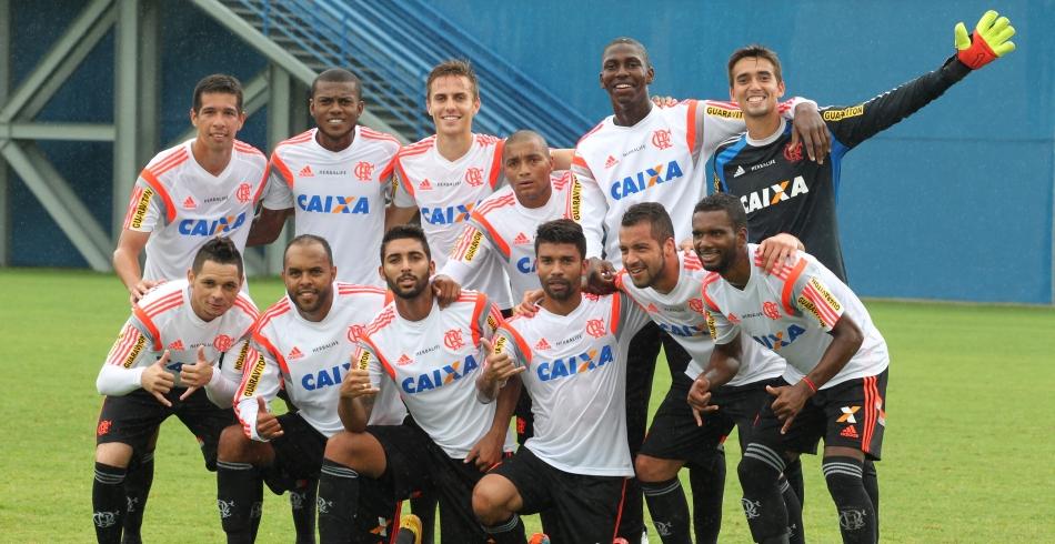Treino do Flamengo em Manaus - 24/01/2015