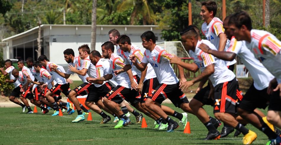 Treino do Flamengo - 28/01/2015